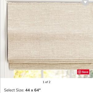 PotteryBarn Emery Linen/Cotton Cordless Shade